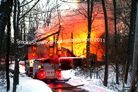 Westminster Ma - 2 Alarms - January 13 2011