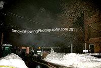 Worcester Ma -  4 Alarms -  February 22 2011