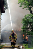 Dearborn MI - Garage Fire - July 11 2011