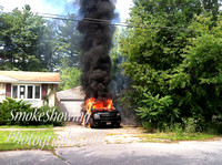 Leominster Ma - Truck Fire - August 22 2011