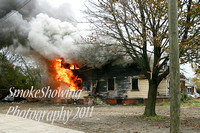 Detroit Mi - Working Fire - October 31 2011