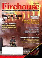 Firehouse Magazine - Cover Photo - May 2010