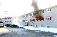 Leominster Ma - Working Fire - January 27 2009