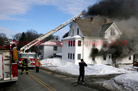 Leominster Ma - 3 Alarms - February 6 2009