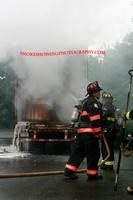 Leominster Ma - Trailer Fire - July 21 2009