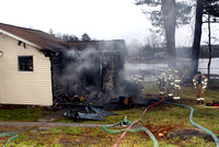 Lunenburg Ma - Working Fire - December 21 2012