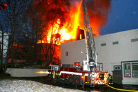 Fitchburg Ma - 4 Alarms - January 25 2013
