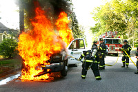 Leominster Ma - Truck Fire - May 18 2013