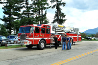North Conway & Gorham NH - Fire Dept - July 4th