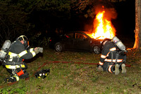 Leominster - Car Fire - May 20th