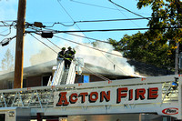 Acton - Working Fire - October 17th