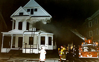 Leominster - Working Fire - August 16 1985