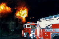 Worcester - Working Fire - July 4 1995