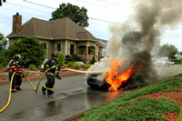 Leominster - Car Fire - July 27th