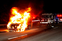 Leominster - Car Fire - January 19th